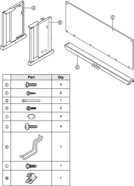 casio keyboard stand assembly instructions