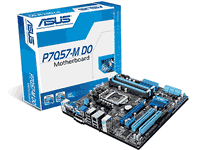 Asus P7Q57-M DO Motherboard Manual