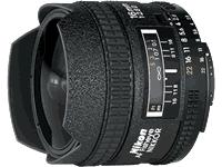 Nikon AF Fisheye-Nikkor 16mm f/2.8D Lens Manual