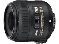 Nikon AF-S DX Micro-NIKKOR 40mm f/2.8G Lens Manual
