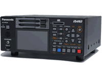 Panasonic AG-HPD24P/HPD24E Recorder Manual