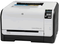 HP LaserJet Pro CP1525nw Printer