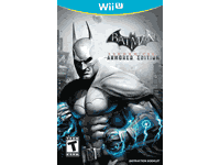 Batman: Arkham City Armored Edition Wii U Manual