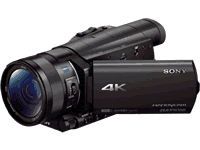 Sony FDR-AX100 Camcorder Manuals