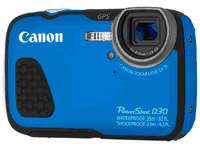 Canon PowerShot D30 Camera Manuals