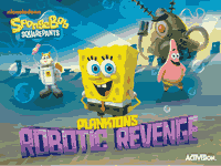 SpongeBob SquarePants: Plankton's Robotic Revenge Manuals