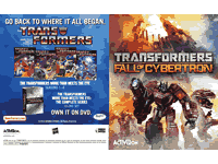 Transformers: Fall of Cybertron Manuals