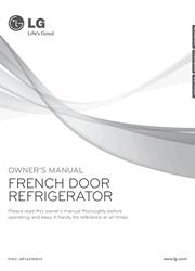 LG LFX28979ST Owner Manual Screenshot