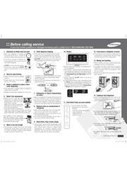 Samsung RF323TEDBWW Quick Guide (Easy Manual) Screenshot