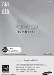 Samsung RF323TEDBWW User Manual Screenshot