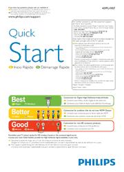 Philips 40PFL4907 Quick Start Guide Screenshot