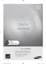 Samsung WF350ANP/WF331ANW/WF331ANR/WF330ANW/WF330ANB User Manual Screenshot