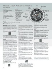 Citizen JV0030-19F Abbreviated Setting Instructions Screenshot