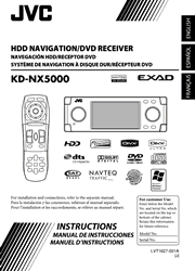 JVC KD-NX5000 Instructions Screenshot