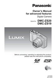 Panasonic LUMIX DMC-ZS20/ZS19 Advanced Owner Manual Screenshot