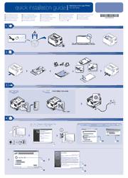 Samsung CLP-320N/321N/325W/326W Quick Installation Guide Screenshot