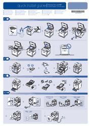 Samsung CLX-6220/CLX-6250 Series Printer Quick Installation Guide Screenshot