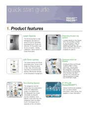Samsung RSG307AARS/RSG307AABP/RSG307AAWP Quick Start Guide Screenshot