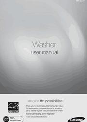 Samsung WF231ANW User Manual Screenshot