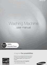 Samsung WF501ANW User Manual Screenshot