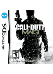 Call of Duty: Modern Warfare 3 NDS Manual Screenshot