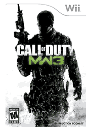 Call of Duty: Modern Warfare 3 Wii Manual Screenshot