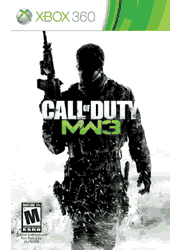 Call of Duty: Modern Warfare 3 Xbox 360 Manual Screenshot