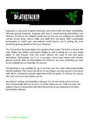 Razer DeathStalker Ultimate Master Guide Screenshot
