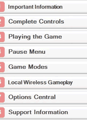 FIFA 14 Nintendo 3DS Manual Screenshot