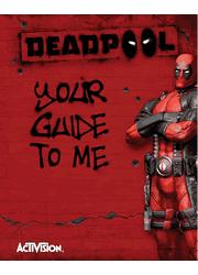 Deadpool PS3 Manual Screenshot