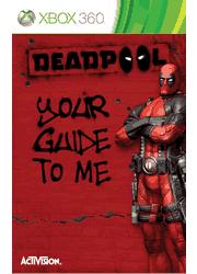 Deadpool Xbox 360 Manual Screenshot