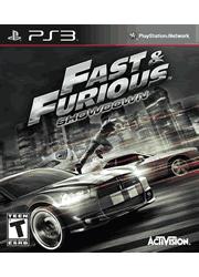 Fast & Furious: Showdown PS3 Manual Screenshot
