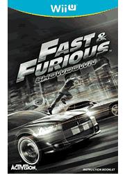 Fast & Furious: Showdown Wii U Instruction Booklet Screenshot