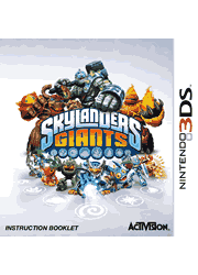 Skylanders Giants Nintendo 3DS Instruction Booklet Screenshot