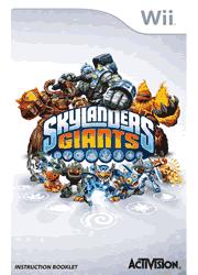 Skylanders Giants Wii Instruction Booklet Screenshot