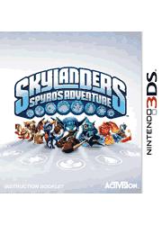 Skylanders Spyro\'s Adventure Nintendo 3DS Instruction Booklet Screenshot