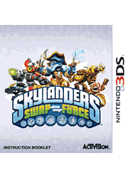 Skylanders SWAP Force Nintendo 3DS Instruction Booklet Screenshot