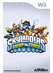 Skylanders SWAP Force Wii Instruction Booklet Screenshot