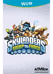 Skylanders SWAP Force Wii U Instruction Booklet Screenshot