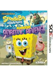 SpongeBob SquarePants: Plankton\'s Robotic Revenge Nintendo 3DS Instruction Booklet Screenshot