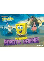SpongeBob SquarePants: Plankton\'s Robotic Revenge PS3 Manual Screenshot