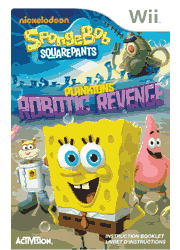 SpongeBob SquarePants: Plankton\'s Robotic Revenge Wii Instruction Booklet Screenshot