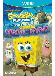 SpongeBob SquarePants: Plankton\'s Robotic Revenge Wii U Instruction Booklet Screenshot