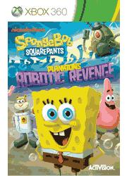 SpongeBob SquarePants: Plankton\'s Robotic Revenge Xbox 360 Manual Screenshot
