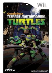Teenage Mutant Ninja Turtles Wii Instruction Booklet Screenshot