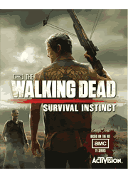 The Walking Dead: Survival Instinct PS3 Manual Screenshot