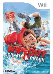 Wipeout Create & Crash Wii Instruction Booklet Screenshot