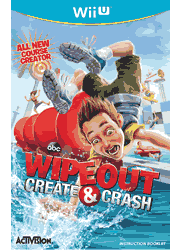 Wipeout Create & Crash Wii U Instruction Booklet Screenshot