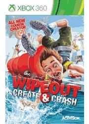 Wipeout Create & Crash Xbox 360 Manual Screenshot
